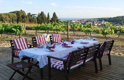 Utflukt med lunsj til vingård i Maresme